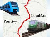 Voie Ferrée ligne train Brieuc Auray va-t-elle renaître