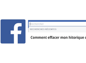 Effacer historique recherche Facebook: Procédure complète