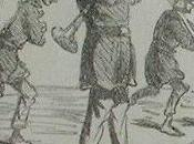 Caricature wagnérienne croquis Cham 1865