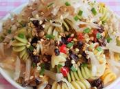 Salade Pâtes Héliantis (Vegan)