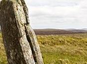 traces d'un impact foudre trouvés centre cercle pierre l'île Lewis