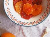 salade d'hiver oranges fleur