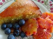 "dolce"" pour février Gateau amandes, polenta oranges sanguines Jamie Oliver"