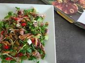 Salade canard gingembre