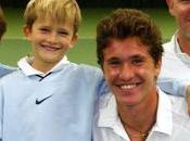 anciens champions tennis voient leurs fils monter filet