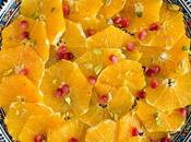 Salade d'oranges marocaine, fleur d'oranger-miel-cannelle