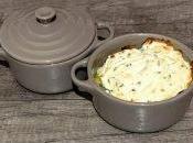 Cassolettes poireau, jambon chèvre