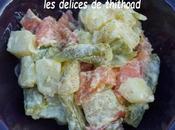 Salade piémontaise saumon-asperges