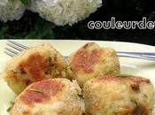 Croquettes poisson l'oignon curry