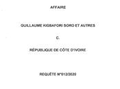 REFLEXIONS L'ORDONNANCE CADHP AVRIL QUANT REQUETE N°012/2020 MANQUE RIGUEUR JURIDIQUE (1ère partie)
