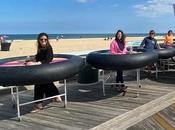 invente table roulante distanciation sociale