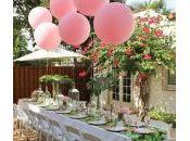 decoration table anniversaire fille