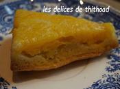 Gâteau renversé ananas mangue