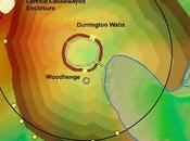 archéologues découvrent énorme cercle fosses autour Durrington Walls près Stonehenge