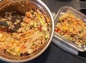 Salade d'été quinoa