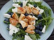 salade poulet myrtilles