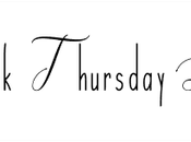 Throwback Thursday Livresque #105 Cuisine