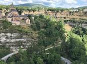 Bozouls: petit village l'Aveyron