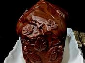 Cake Cacao Matcha, ganache Chocolat.
