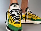 Sacai Nike VaporWaffle continue dévoiler on-feet