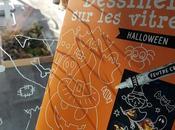 Dessiner vitres Halloween Soleil Editions
