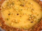 Tartelette amande coco l'orange curd