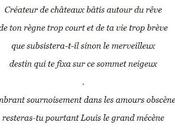sonnet Louis Bavière] Chaunes, auteur pièce rêve'.