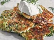 Galettes brocoli fromage