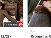 Kronprinz Rudolf Rebell téléfilm deux parties voir médiathèque 3SAT