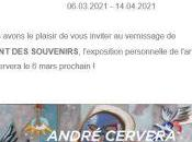 Galerie Teodora Exposition André Cervera chant souvenirs 06/03 14/04/2021
