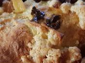 Recette brioche pommes caramélisées crumble