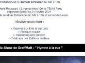 Vernissage GraffMatt Hymne Galerie Roussard