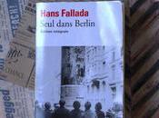 Seul dans Berlin Hans Fallada