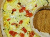 Pizza couronne courgette façon Cyril Lignac