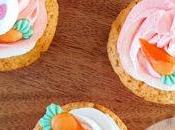 Cupcakes vanille Pâques