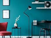 bleu canard dans chambre