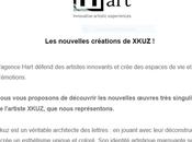 Agence H.ART 'Les créations nouvelles XKUZ