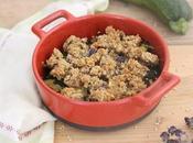 Crumble courgette-quinoa thym
