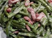 Haricots verts fromage frais