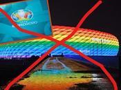 L'UEFA interdit l'illumination stade Munich couleurs arc-en-ciel pour match Allemagne-Hongrie juin