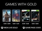 Games With Gold septembre 2021 sont dévoilés!