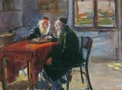 Rabbins jouant échecs d'Arthur Markowicz (1926)