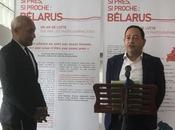 Conférence presse Maison Journalistes après lutte Belarus.