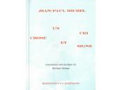 (Note lecture), Jean-Paul Michel, cri, chose signe, Gilles Jallet