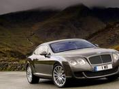 Bentley ventes 2007 sortie coupé Continental Speed